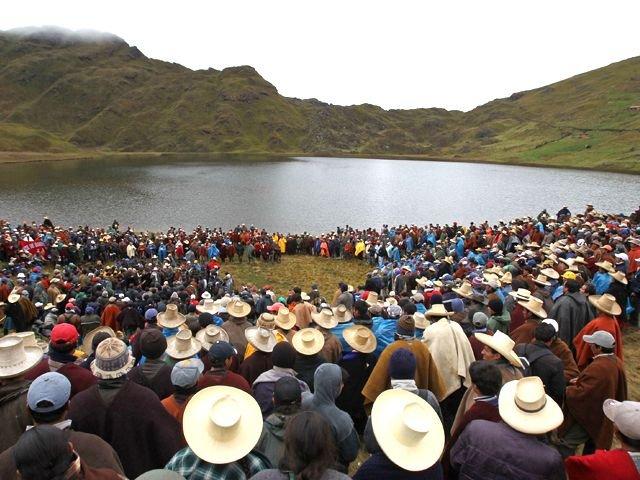 Cajamarca contro Yanacocha